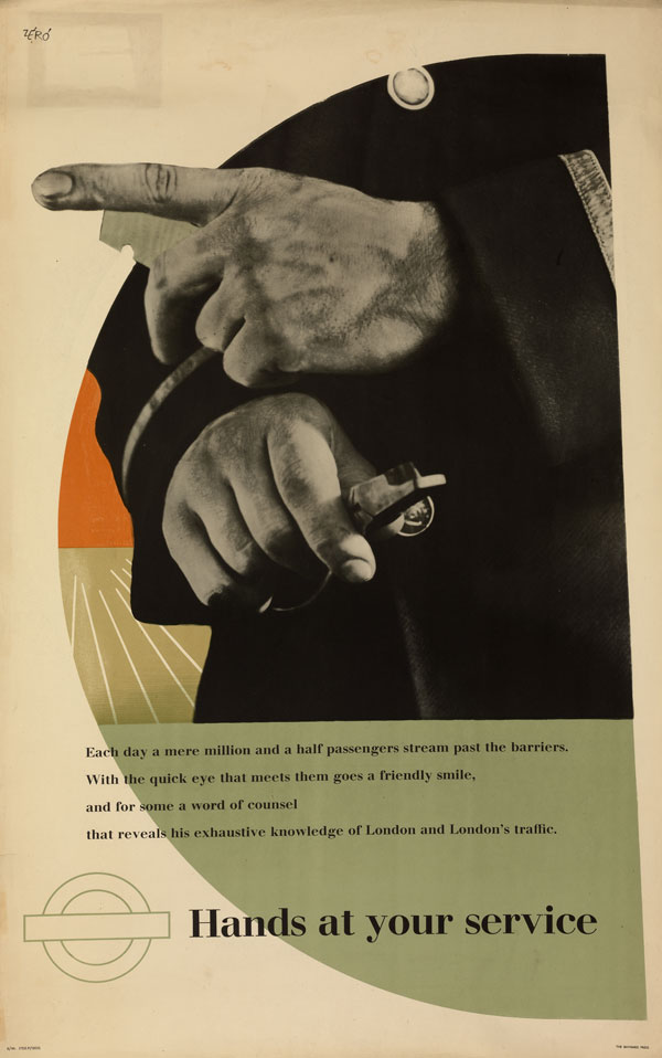 Hands at Your Service (Ticket Collector), 1946