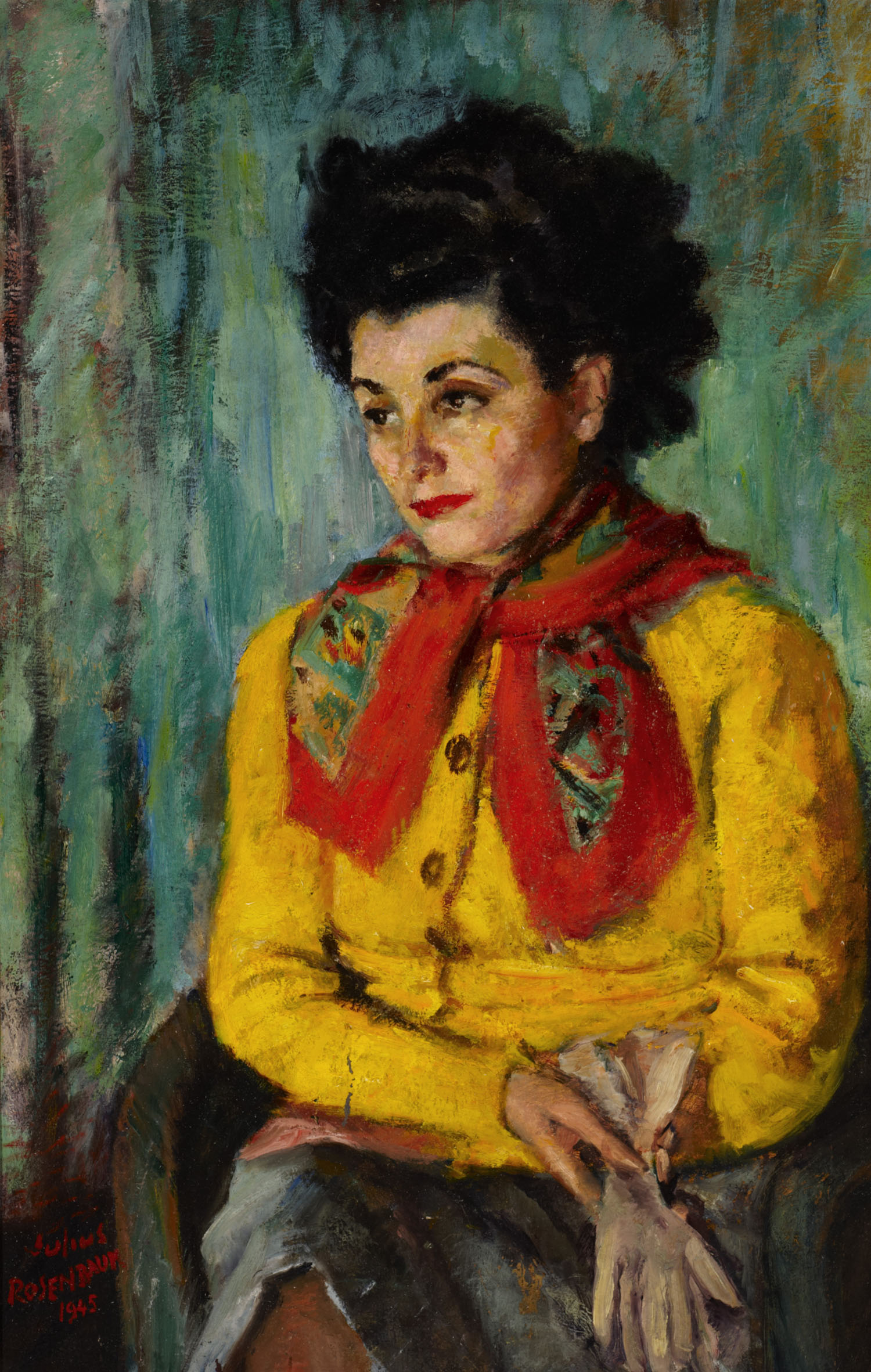 Portrait of Charlotte, 1945